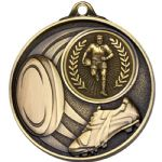 Rugby Medal 50mm AM1506
